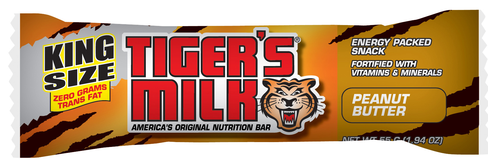 Tiger's Milk® Energy Bars