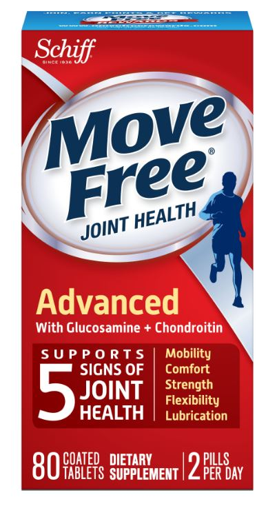 MOVE FREE® Advanced with Glucosamine + Chondroitin