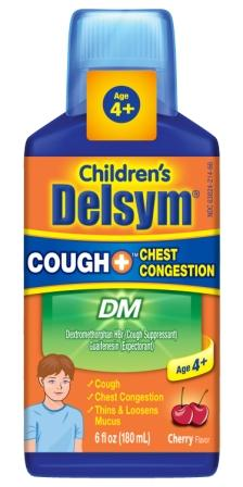 DELSYM® Children's COUGH+™ Chest Congestion DM Liquid - Cherry