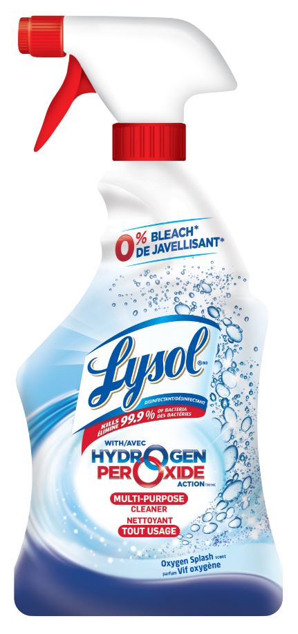 LYSOL® Hydrogen Peroxide Action™ Multi-Purpose Cleaner - Oxygen Splash (Canada)