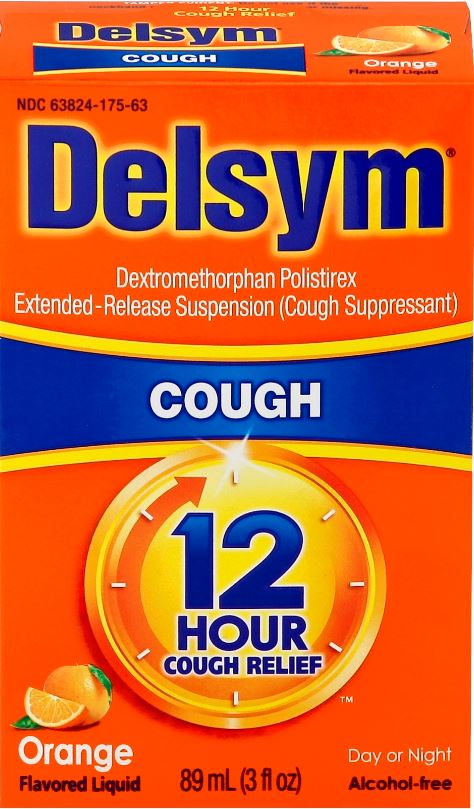 DELSYM® Cough 12 Hour Liquid - Orange