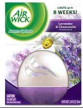 AIR WICK AROMA SPHERE Air Freshener  Lavender  Chamomile Photo