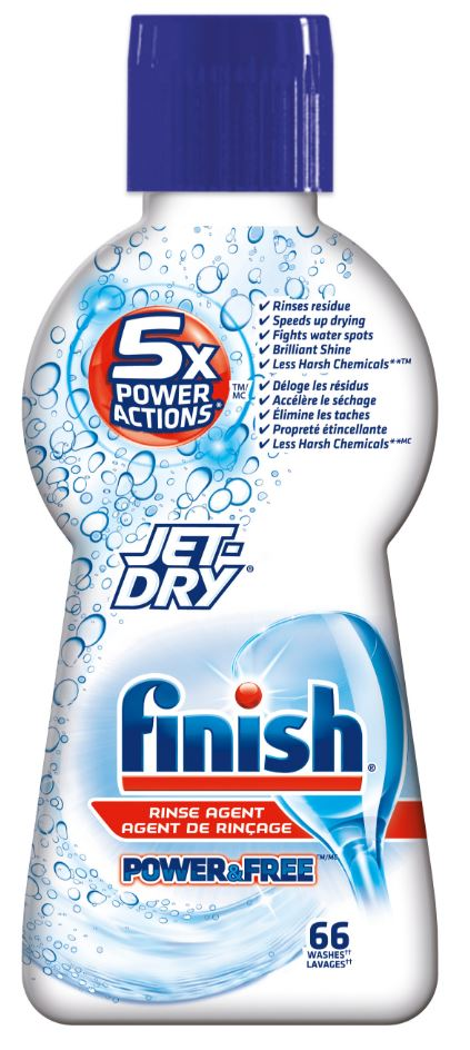 FINISH JetDry Power  Free Rinse Agent Photo