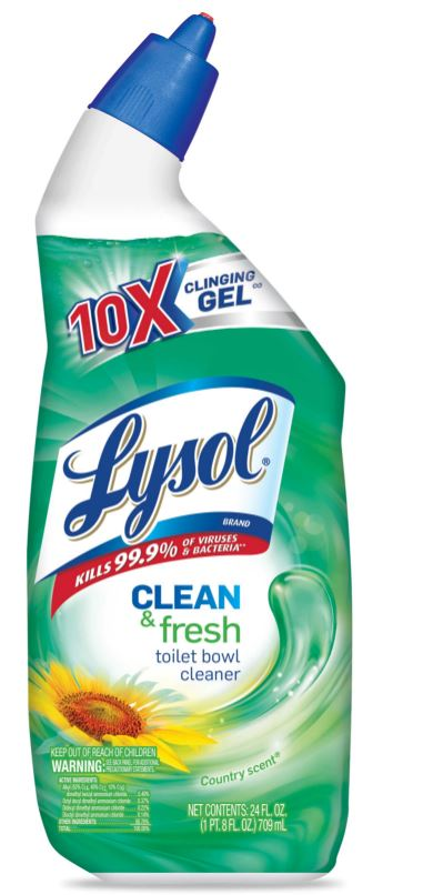 LYSOL® Clean & Fresh Toilet Bowl Cleaner - Country Scent