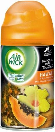 AIR WICK FRESHMATIC Ultra  Hawaii Exotic Papaya  Hibiscus Flower  Photo