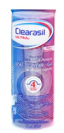CLEARASIL® Ultra® Rapid Action Seal-to-Clear Gel