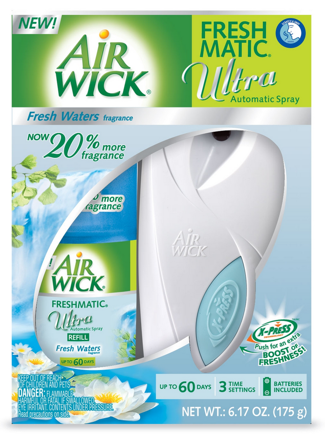 AIR WICK FRESHMATIC Ultra Starter Kit  Fresh Waters Photo