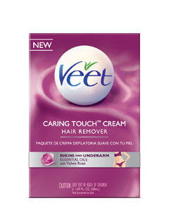 VEET® CARING TOUGH™ Bikini & Underarm Hair Remover Cream Kit - Product A (USA) (Discontinued)