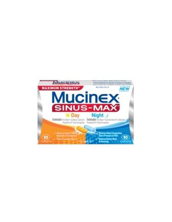 MUCINEX® SINUS-MAX™ Day & Night Caplets (Day)