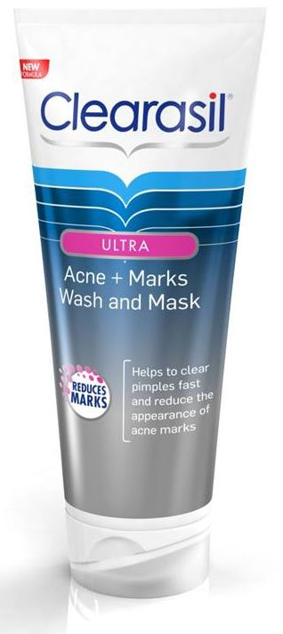 CLEARASIL® Ultra® Acne + Marks Wash and Mask