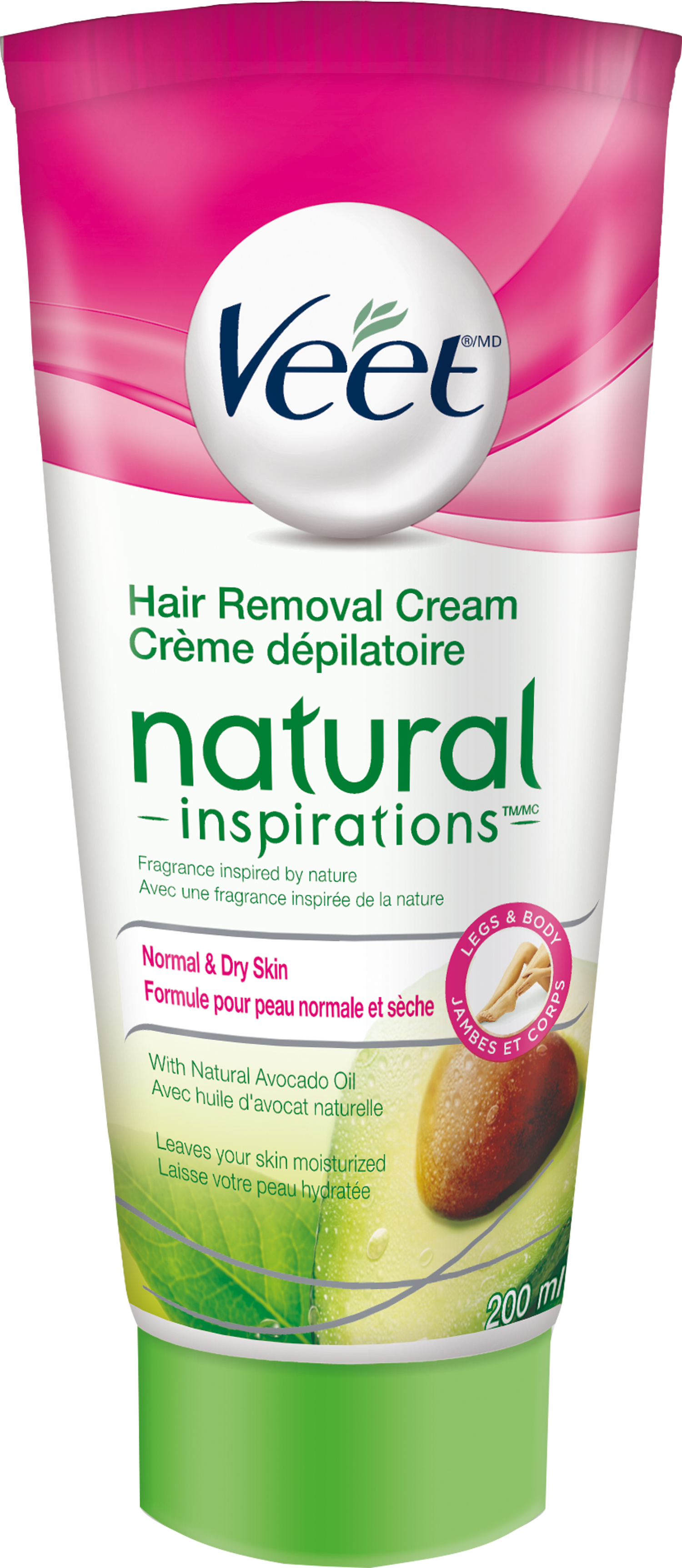 VEET® Natural Inspirations™ Hair Removal Cream - Normal & Dry Skin (Canada)