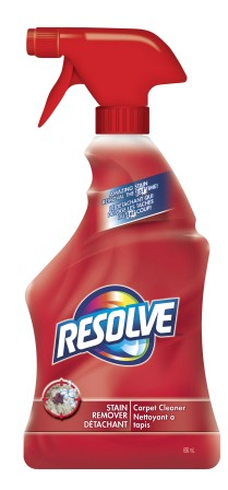 RESOLVE® Stain Remover Carpet Cleaner (Canada)