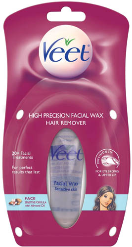 VEET® High Precision Facial Wax - Sensitive Skin with Almond Oil (Product A) (DISCONTINUED)