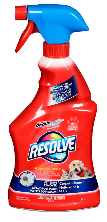 RESOLVE® Carpet Cleaner Pet Stain Remover (Canada)