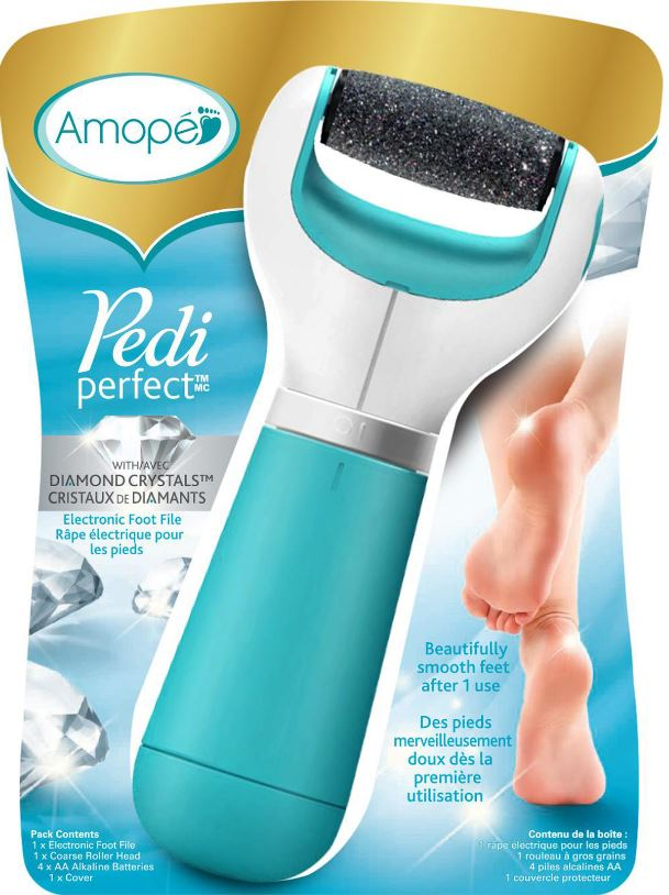 AMOPE® Pedi Perfect™ Electronic Foot File (Canada)