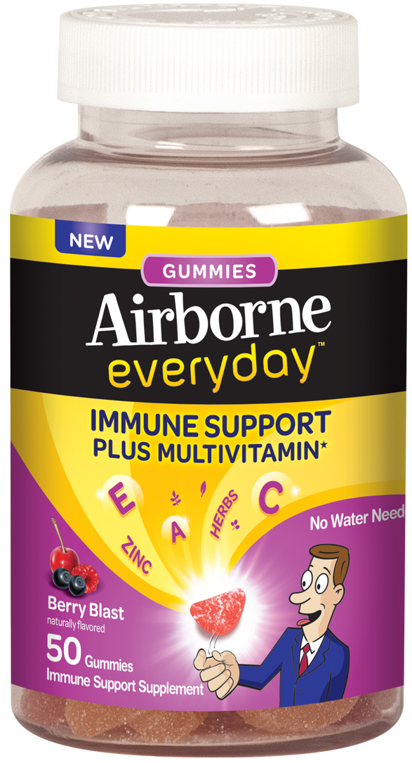 AIRBORNE® Everyday Gummies Berry