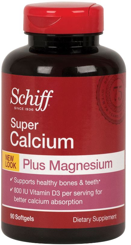 SCHIFF® Super Calcium Plus Magnesium Softgels