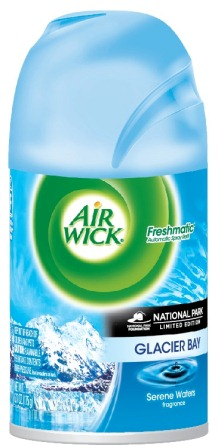 AIR WICK FRESHMATIC  Glacier Bay  National Parks Canada Discontinued Photo