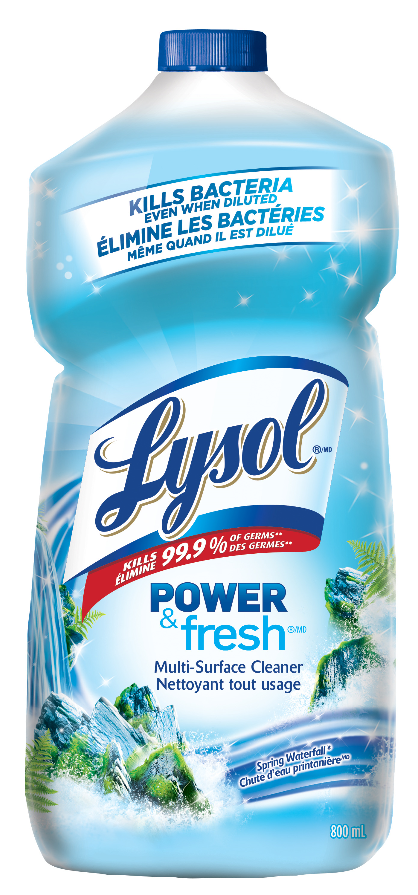 LYSOL® Disinfectant Power & Fresh™ Multi-Surface Cleaner - Pourable - Spring Waterfall (Canada)