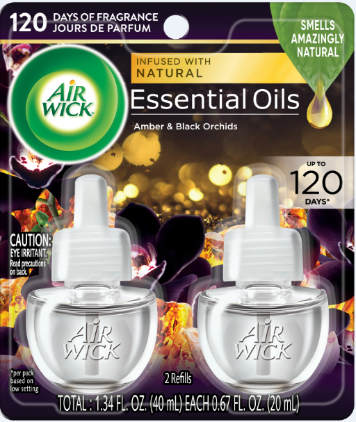 AIR WICK® Scented Oil - Amber & Black Orchids