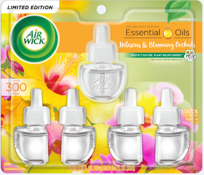 AIR WICK® Scented Oil - Hibiscus & Blooming Orchids