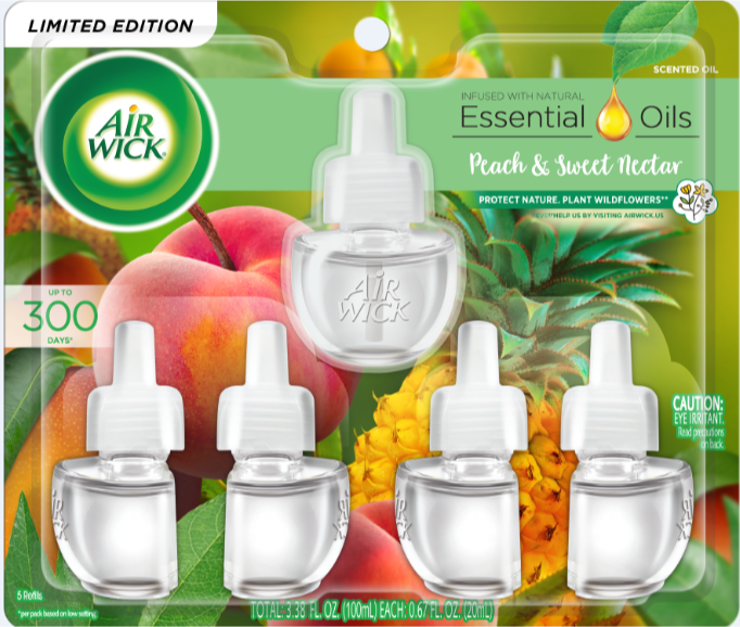AIR WICK® Scented Oil - Peach & Sweet Nectar