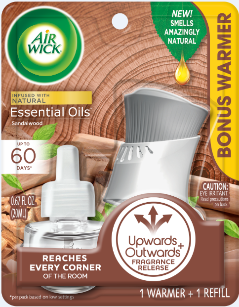 AIR WICK® Scented Oil - Sandalwood - Kit