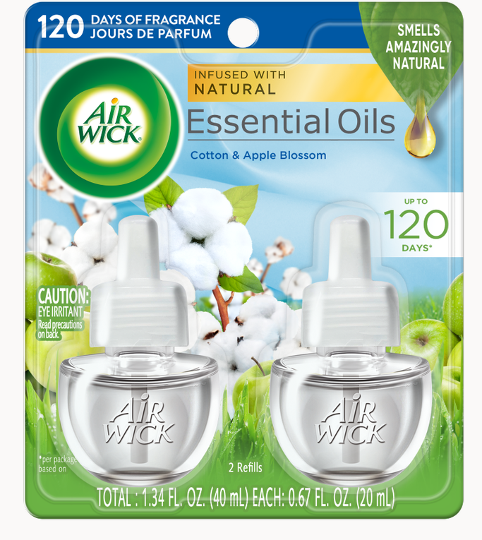 AIR WICK® Scented Oil - Apple Blossom & Cotton