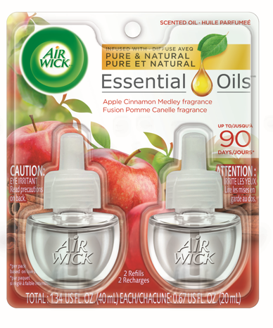 Air Wick Scented Oil Apple Cinnamon Medley