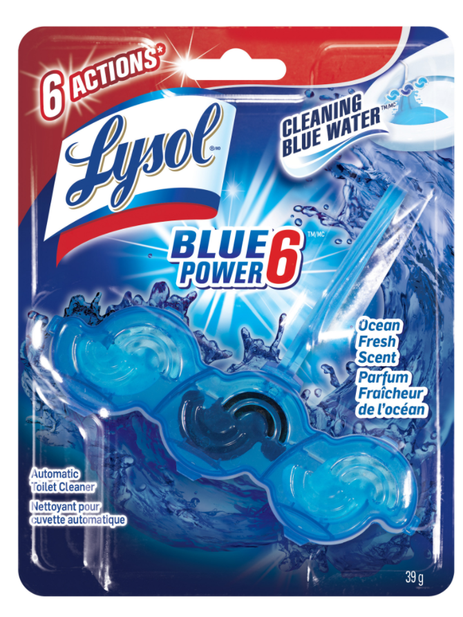 LYSOL® Power & Fresh 6 Automatic Toilet Bowl Cleaner - Atlantic Fresh Scent (Canada)
