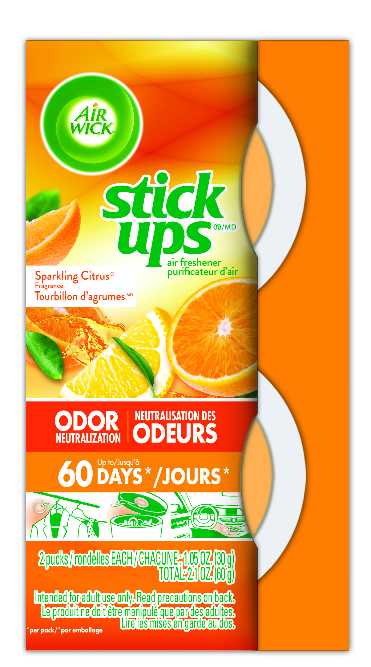 AIR WICK® STICK UPS® Air Freshener - Sparkling Citrus