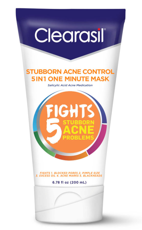 CLEARASIL Stubborn Acne Control 5 in 1 One Minute Mask Photo