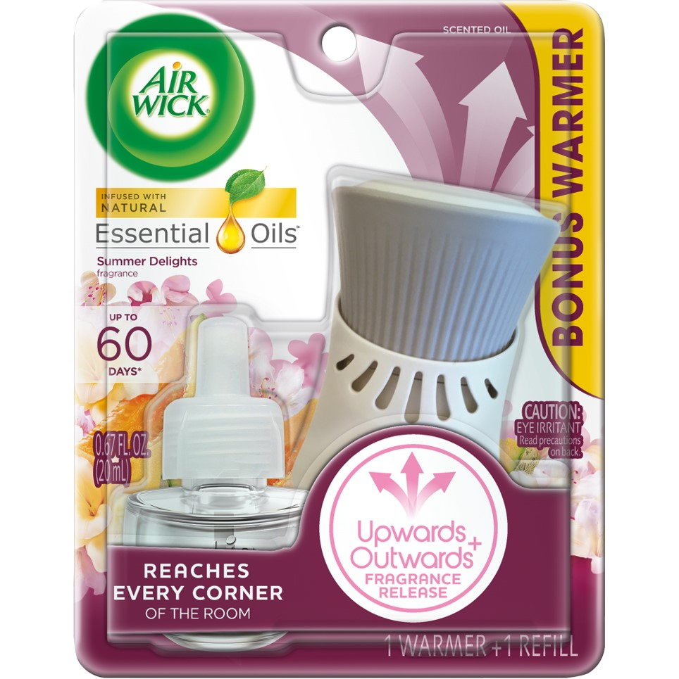 AIR WICK® Scented Oil - White Flowers & Melon Summer Delights - Kit