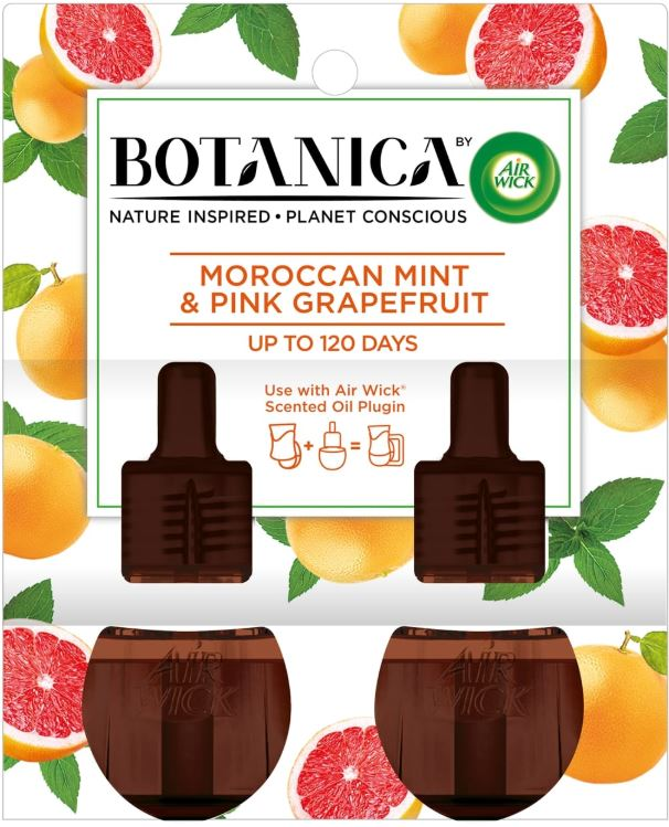 AIR WICK® Botanica Scented Oils - Moroccan Mint & Pink Grapefruit