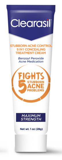 CLEARASIL Stubborn Acne Control 5 in 1 Spot Treatment Cream Photo