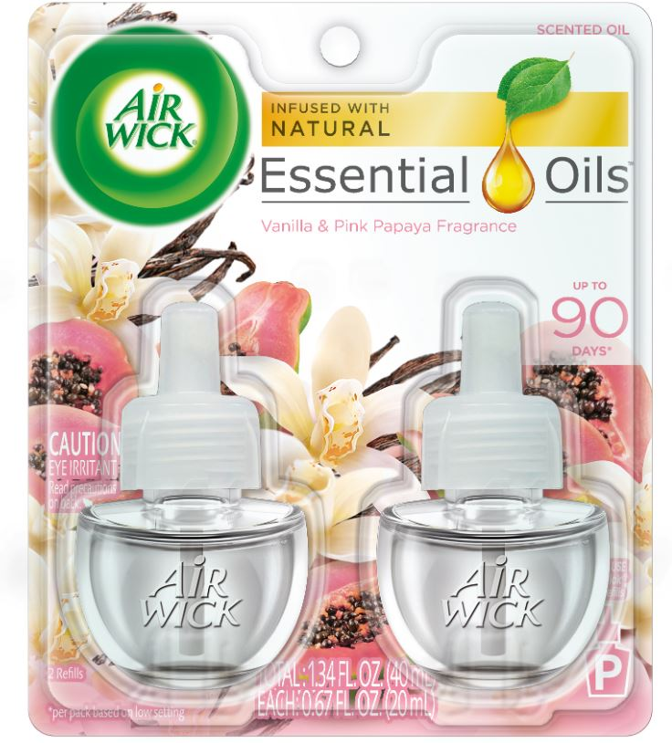 AIR WICK® Scented Oil - Vanilla & Pink Papaya