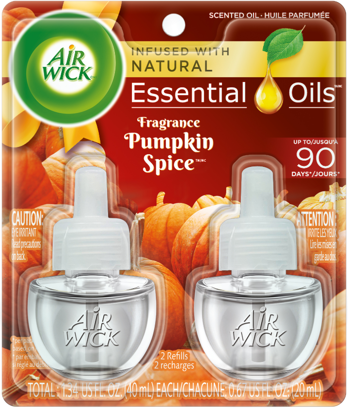 AIR WICK® Scented Oil - Pumpkin Spice (Spread The Joy™)