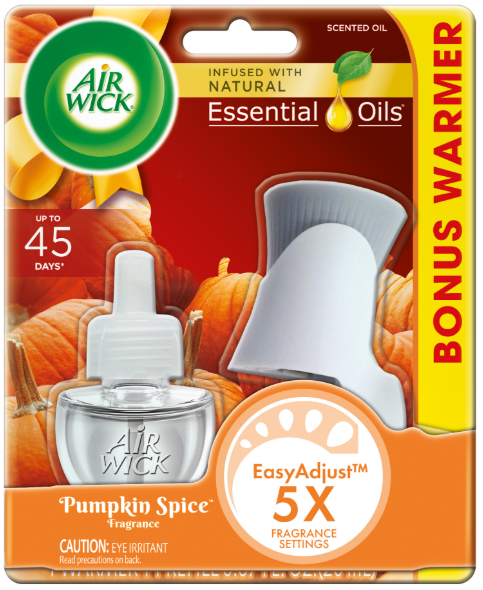 AIR WICK® Scented Oil - Pumpkin Spice - Kit