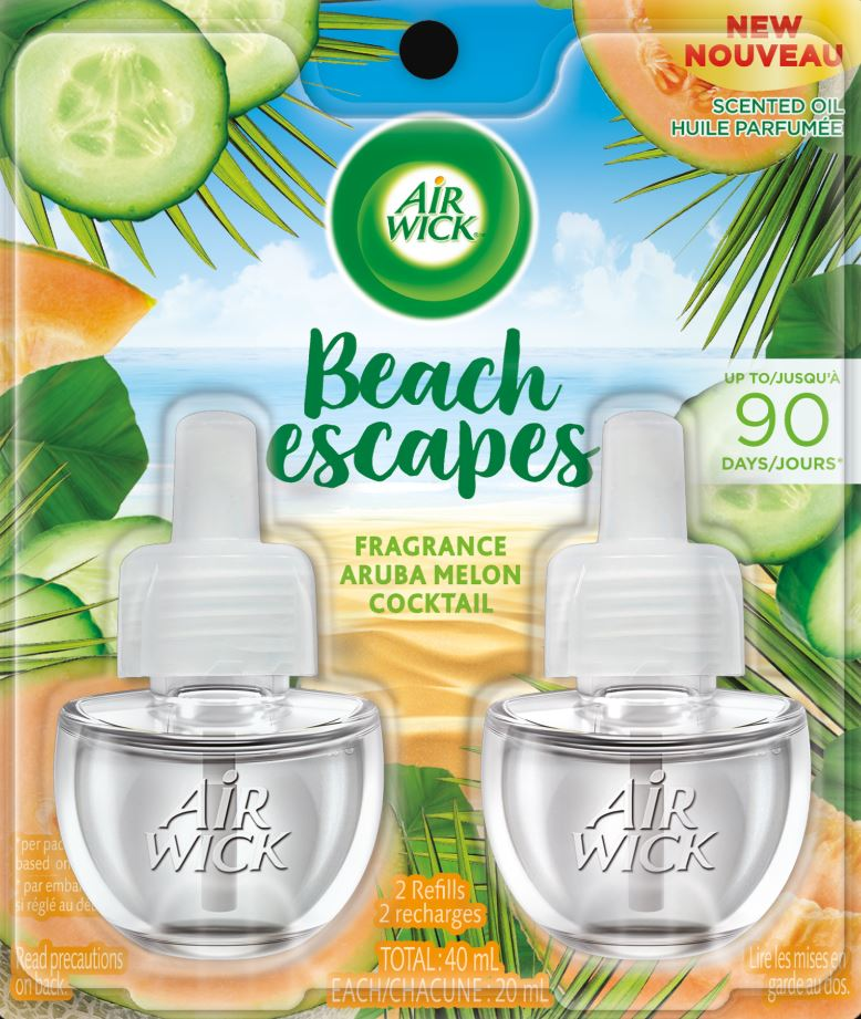 AIR WICK® Scented Oil - Beach Escapes Aruba Melon Cocktail (Canada)