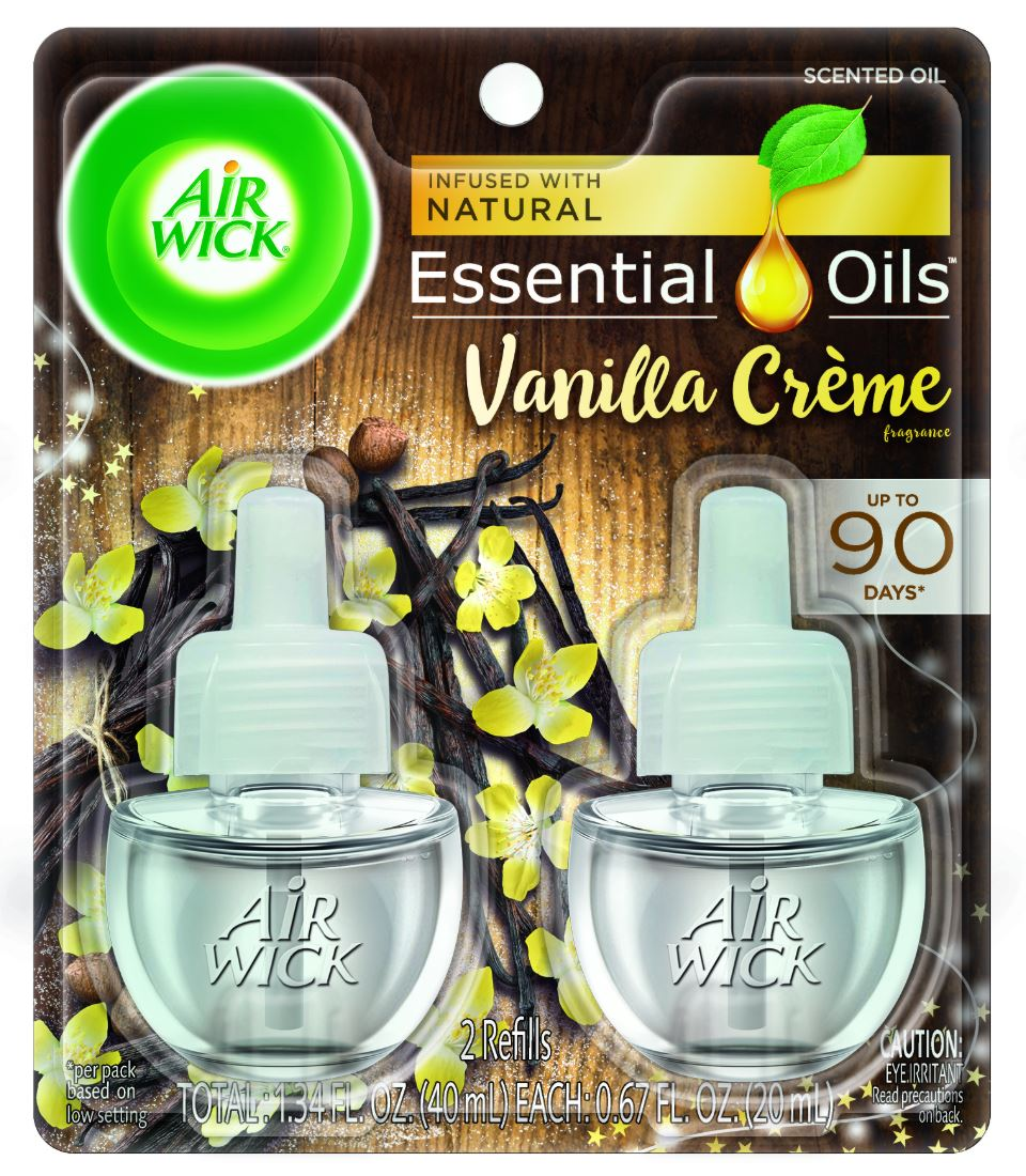 AIR WICK Scented Oil  Vanilla Creme Discontinued Photo