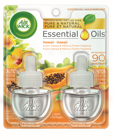 AIR WICK® Scented Oil - Hawaii Exotic Papaya & Hibiscus Flower