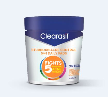 CLEARASIL Stubborn Acne Control 5 In 1 Pads Photo