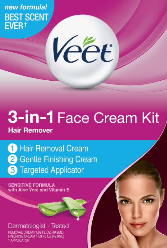 VEET 3in1 Facial Hair Cream Kit  Product A Photo