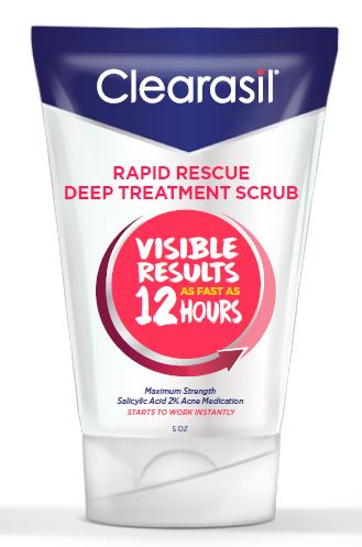 CLEARASIL® Rapid Rescue Deep Treatment Scrub