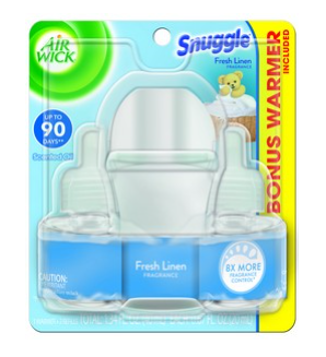AIR WICK® Scented Oil Starter Kit - Snuggle® Fresh Linen