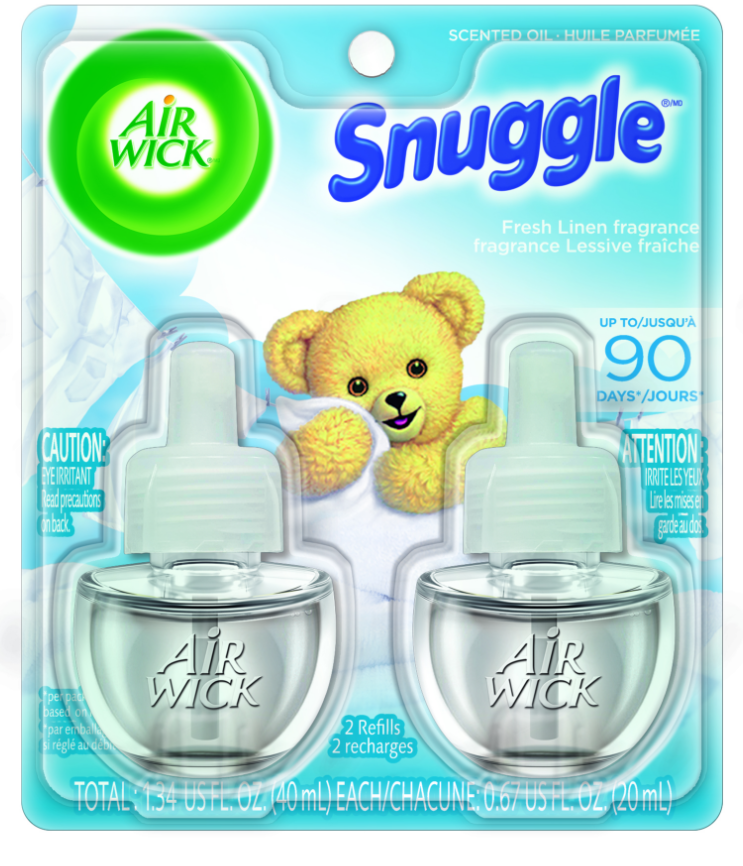 AIR WICK® Scented Oil - Snuggle® Fresh Linen