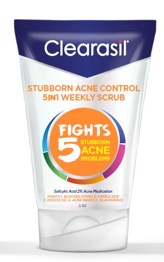 CLEARASIL 5 in 1 Exfoliating Scrub Photo