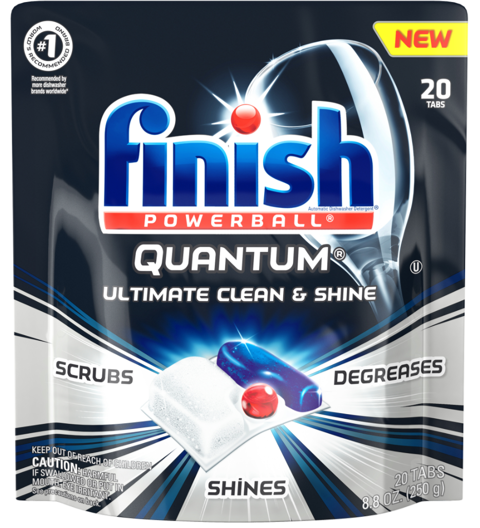 FINISH® Powerball® Quantum® Tabs - Original Scent